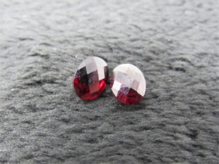 Garnet Matched Set Gemstones-