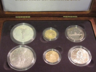 1989 US Congressional 6 Coin Commem. Set-