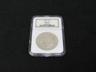 1881-S Morgan Silver $1 Coin-
