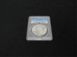 1883-P Morgan Silver $1 Coin-