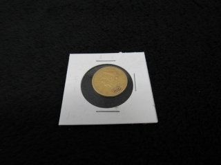 1880-S $5 Half Eagle Gold Coin-