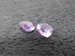 Amethyst Matched Pair Gemstones-