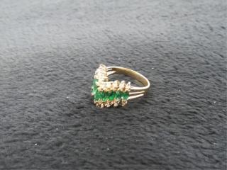 14K Yellow Gold Fashion Ring w/ Appraisal-