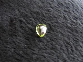 Peridot Teardrop Gemstone-