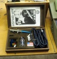 Mac Tools Airbrush, Model #AB150, New In Wood Case
