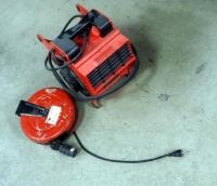 ATD Air Portable Fan Blower, Model #31200 And Retractable Extension Cord