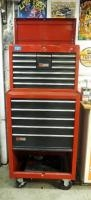 Craftsman 15 Drawer Rolling Tool Chest Includes Top Box And Assorted Hand Tools; Sockets, Drivers, H...