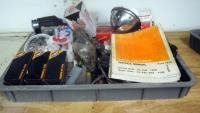 Harley Davidson Oil Filters, 1978 Service Manual, Gaskets, Lug Nuts, Assorted Hardware, Chain Sprock...