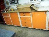 "Laboratory Insulated Storage Cabinets, 9 Drawers And 2 Cabinets In Set, Qty 2, 36"" x 47"" x 23"", Bidd..."