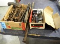 Rockwell Pneumatic Sander, Model #2207 And Vintage Hand Tools Including Wrenches, Welding Pliers Ham...