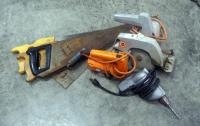 "Black And Decker Electric Jig Saw, 7.25"" Utility Saw And Vintage Hand Drill, Hand Saws And More"