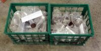 "2"" Chrome Exhaust Tips, Approx Qty 50, Contents Of 2 Crates"
