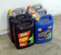 Anti-freeze Full And Partial 1 Gallon Bottles, Qty 6