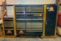 Matco Professional Mechanics Tool Chest, Upper and Lower Cabinets, Side Cabinets With Drawers And Sh...