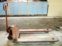 Jet Pallet Truck, Model #PT-2748L, 5500 LBS Capacity, In Working Order, Needs New Tires