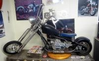 Kikker 5150 Miniature Working Replica Motorcycle With Pull Start, Ran When Last Parked But Has Sat F...