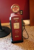 "Collectible Miniature Fire-Chief Fuel Pump, 25"" Tall"