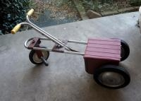 Vintage 1950's Child's Irish Mail Cart Pedal Car