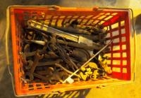 Vintage Hand Tools, Pipe Wrench, Open End Wrench, Ball Ping Hammer And More
