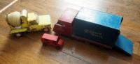 Vintage Toy Trucks, Including Tonka Cement Truck And Wood Reliance Truck And More