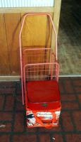 Folding Shopping Cart, Insulated Budweiser Dale Earnhardt Jr Lunch Bag And Decorative Box