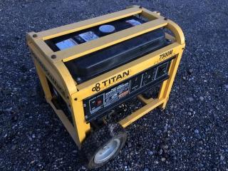Titan Industrial 7500M Generator