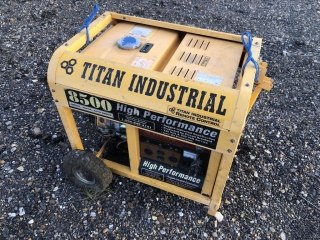 Titan Industrial 8500 Generator
