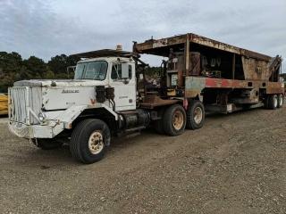 1981 Auto Carr Truck & 1995 Universal Refiner PDR-450 Wood Processor/Grinder
