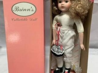 Vintage 1980's Brinn Doll 16