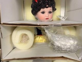Marie Osmond Snow Winter 65th Anniversary Porcelain Doll $349 Retail
