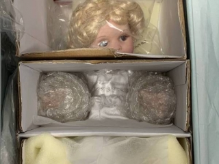 Marie Osmond Wing Repairer Porcelain Doll $85 Retail