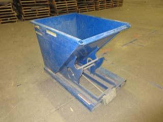 Forklift Garbage Dump Container UNRESERVED