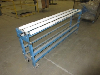 Metal Cart On Wheels With Rollers UNRESERVED