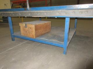 Metal Work Table UNRESERVED