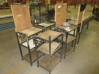Metal Work Table (Must Take 6 Times The Bid Price) UNRESERVED