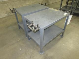 Metal Work Table (Must Take 2 Times The Bid Price) UNRESERVED