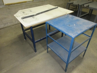 2 Metal Work Tables UNRESERVED