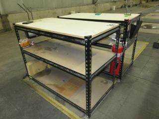 Metal Shelf (Must Take 2 Times The Bid Price) UNRESERVED