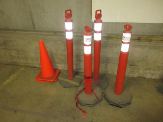 Pylons And Barricades UNRESERVED