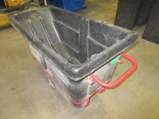Rubbermaid Garbage Bin On Wheels UNRESERVED