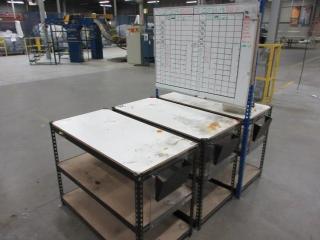 Metal Shelf (Must Take 3 Times The Bid Price) UNRESERVED
