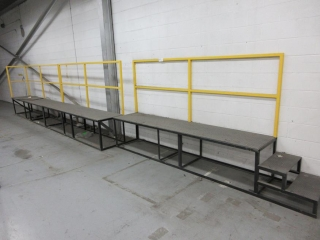 2 Section Metal Walkway UNRESERVED