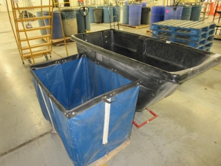 Plastic Garbage Cart And Misc. Cart UNRESERVED