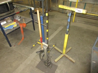 Misc. Items, Stand, Hand Compactor And Air Pump UNRESERVED