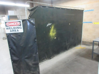Misc. Welding Curtain UNRESERVED