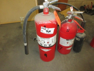 Fire Extinguisher  UNRESERVED