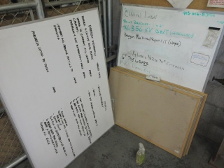 Misc. White Boards And Bulletin Boards  UNRESERVED