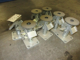Cart Stands With Locks - New (Must Take 7 Times The Bid Price) UNRESERVED