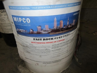 Misc. Pails Of Patch & Grout And Oil UNRESERVED