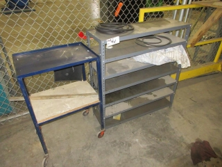 Misc. Cart And Shelf UNRESERVED